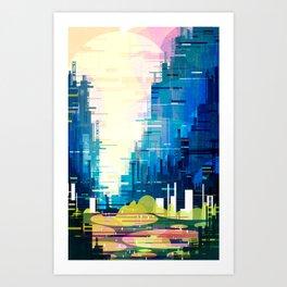 The Metropolis Art Print