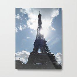 Eiffel Alight Metal Print