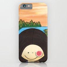 Little Mona Lisa - Reinterpretation for (Mona Lisa - Leonardo Da vinci), Art for kids iPhone 6s Slim Case