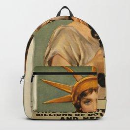 Vintage poster - Liberty Bonds Backpack