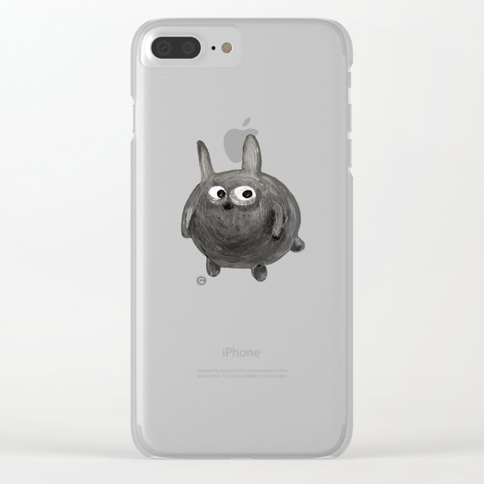 Night Scene Clear iPhone Case