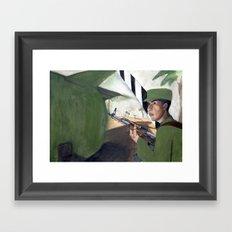 Cuban Standoff Framed Art Print