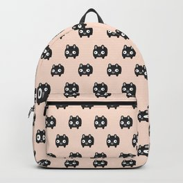 French Bulldog Loaf - Black Frenchie Backpack