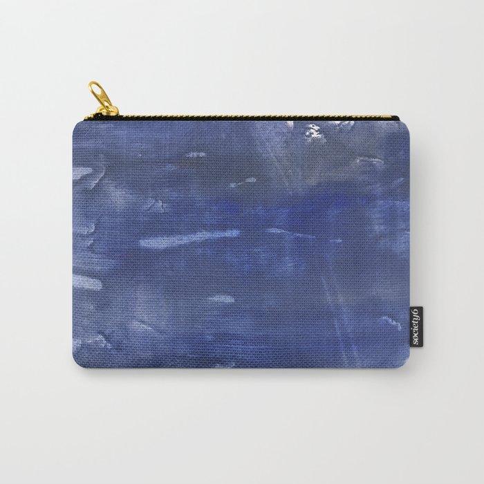 Dark slate blue Carry-All Pouch