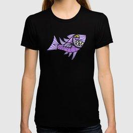 Escher Fish Pattern IX T-shirt