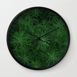 Foxtails Wall Clock