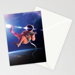 Space Uke  Stationery Cards
