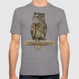 Paper Bag Owl T-shirt