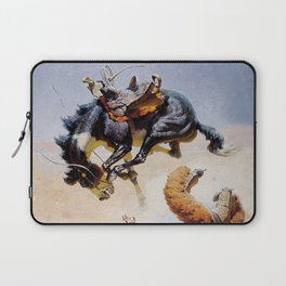 """""""Double Crosser"""" by William Leigh Laptop Sleeve"""