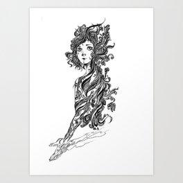 Hidden feeling 02 Art Print