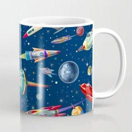 rockets in traffic Coffee Mug
