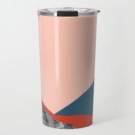 Graphic Mountains Travel Mug