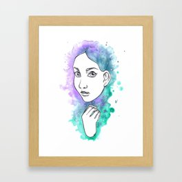 To Be Seen Framed Art Print