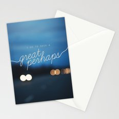 looking for alaska - great perhaps. Stationery Cards