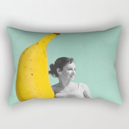 Banana surfer 2 Rectangular Pillow