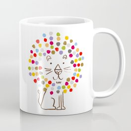 Dandy Lion Coffee Mug