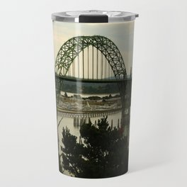 Yaquina Bay Bridge Travel Mug
