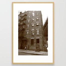 Brooklyn, New York, 126 Front Street 2009 Framed Art Print