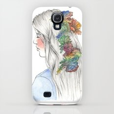 Fleurs d'aquarelle Slim Case Galaxy S4
