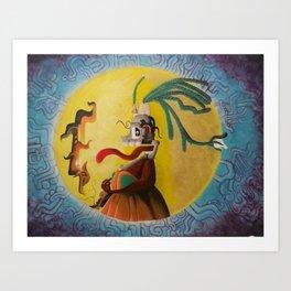 Mayadonna Art Print