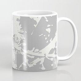 Starflowers on gray Coffee Mug