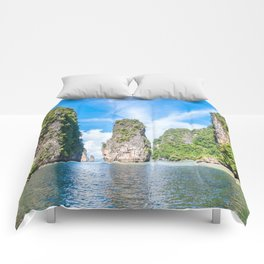 Islets in Phang Nga Bay Comforters