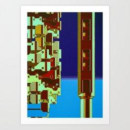Mechanical 16 Art Print