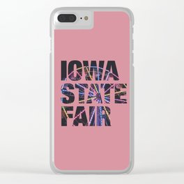 Iowa State Fair 2018 - Ferris Wheel 2 Clear iPhone Case