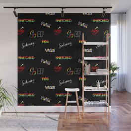 LGBTQ Slang and Sayings Wall Mural