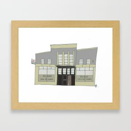 Silkes Cash and Carry, Galway city. Ireland Framed Art Print