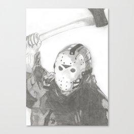 Jason Vorhees. Canvas Print