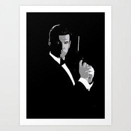 Pierce Brosnan 007 Art Print
