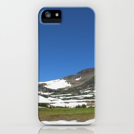 Begining the Hike iPhone Case