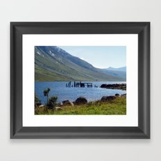 Loch Etive at Gualachulain Framed Art Print