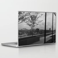 baltimore Laptop & iPad Skins featuring Baltimore Reflections  by L.A. Howes