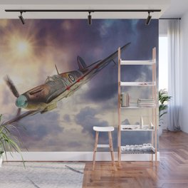 Supermarine Spitfire Wall Mural