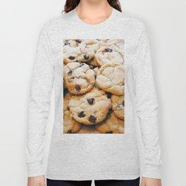 Chocolate Chip Cookies Long Sleeve T-shirt