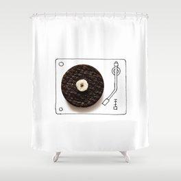 Oreo LP Shower Curtain