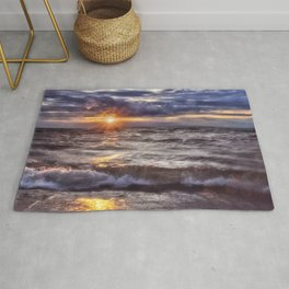 The Wonder of a Sunset Rug