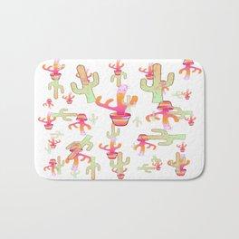 Cactus Family Day Bath Mat