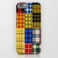 Crazy Plaid iPhone 6 Slim Case