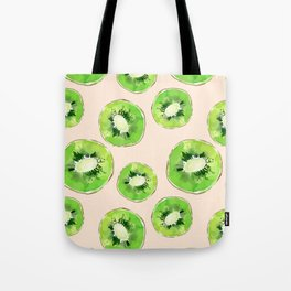 Kiwis pattern Tote Bag