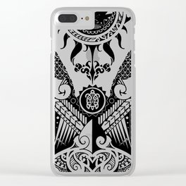 Maori Design Case Clear iPhone Case