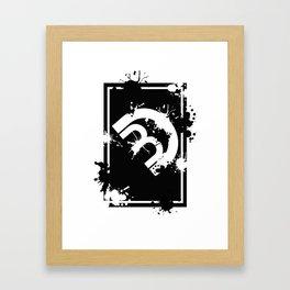 DB Framed Art Print