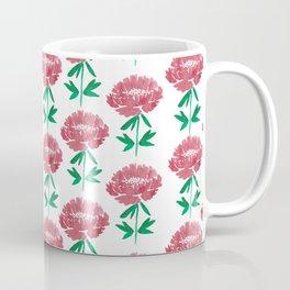 Vintage peony Coffee Mug