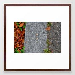 concrete concrete Framed Art Print