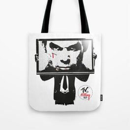 TV IS KILLING US Tote Bag