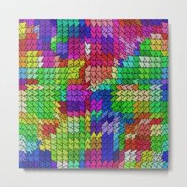 sweeping pattern 01 Metal Print