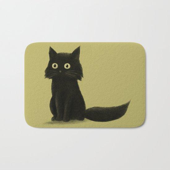 Sitting Cat Bath Mat