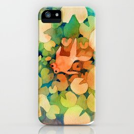 gold fish iPhone Case